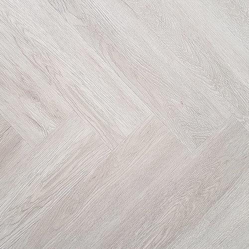 Visgraat PVC - Eiken wit - Laminaat tot visgraat nl Graaggebracht