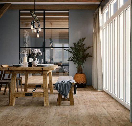 Vivafloors 4302 - naaldhout - plank - sfeerbeeld 1