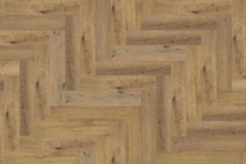 Ambiant Spigato Visgraat PVC vloer - 2504 - Dark Oak - 1