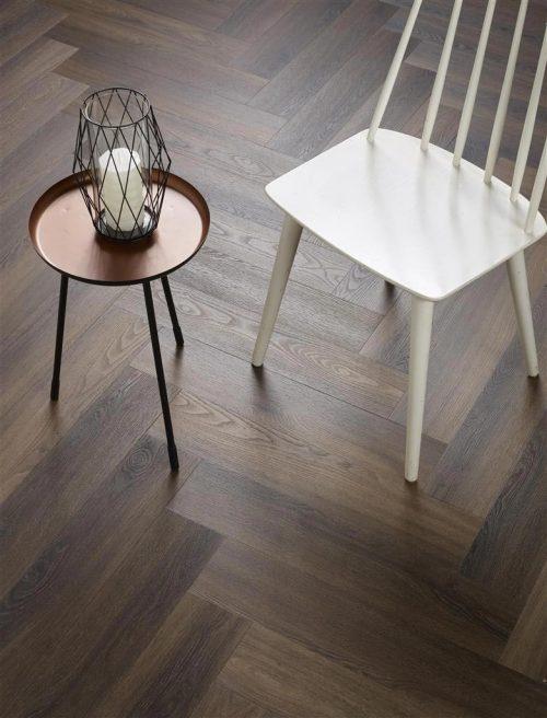 Ambiant Spigato Visgraat PVC vloer - 3501 - Warm brown - 5