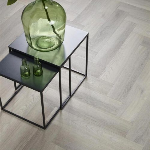 Ambiant Spigato Visgraat PVC vloer – 3505 – Grey [Dryback PVC] – INCLUSIEF EGALISEREN EN LEGGEN
